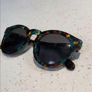 DIFF Eyewear Tortoise Sawyer Glasses